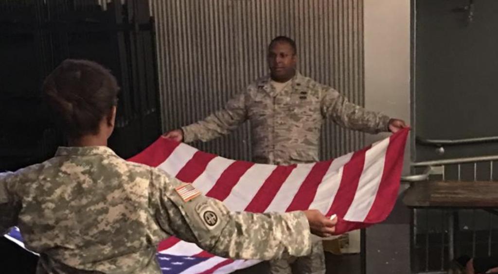 Alum Lt. Col. Bryon Coward credits GSU for success
