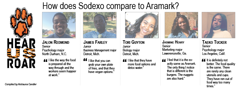 Talk Back: How does Sodexo compare to Aramark?