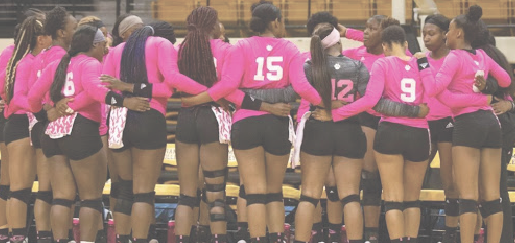 Volleyball drops season finale versus UAPB, prepares for SWAC Tournament