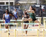 Track and field competes on two fronts