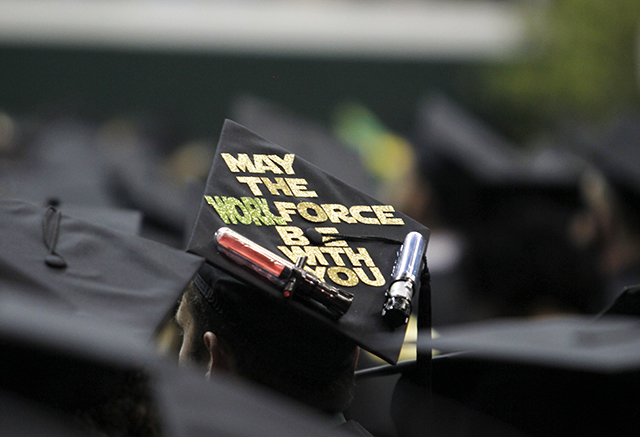 Graduation Caps Reveal Personalities Lionsroarnews
