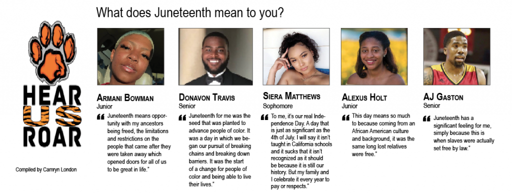 TALK BACK: What does Juneteenth mean to you?