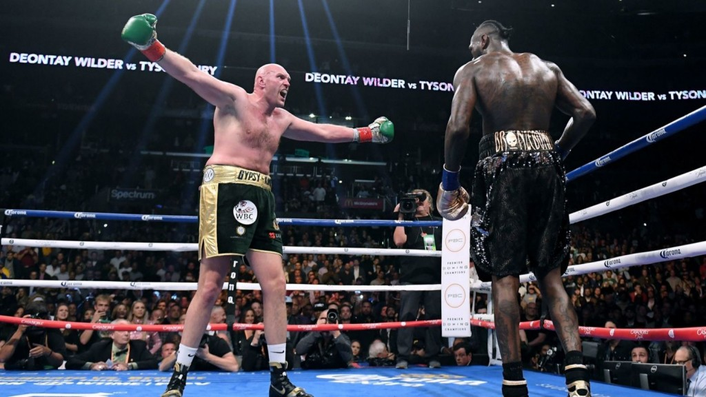 Mike Tyson insists Deontay Wilder can avenge Tyson Fury defeat