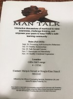 Man Talk: Fighting the stereotypes