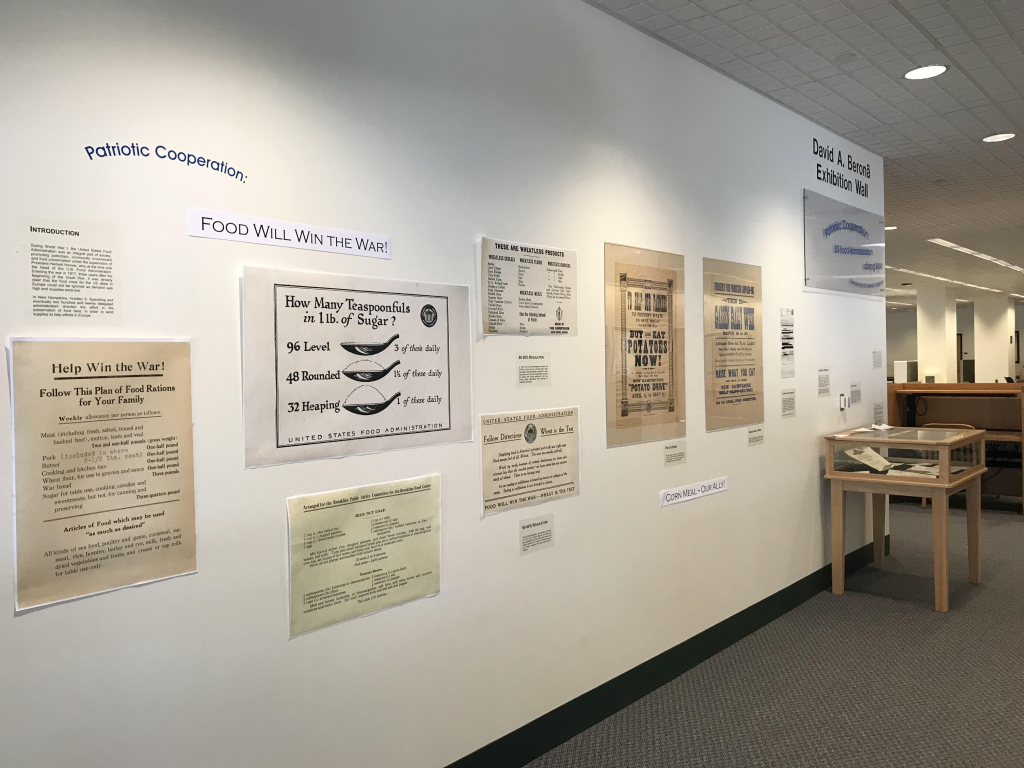 WWI Food Administration Exhibit Opens in Lamson