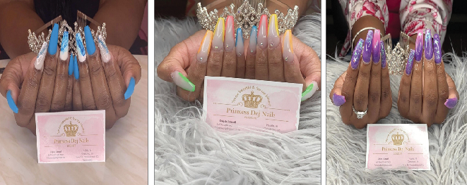 On campus nail tech making waves
