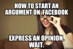 How to win all your Facebook altercations