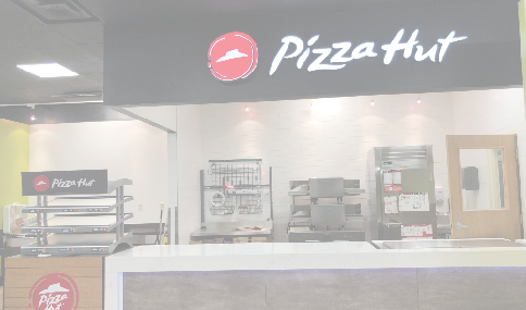 Pizza Hut now open  in Tiger Express