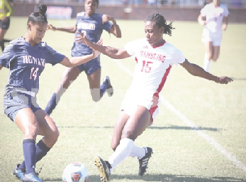 Soccer team lose in semifinals, fall to Howard in OT