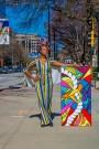FAMU alumna brings abstract art to campus