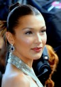 Bella Hadid walks in Milan Fashion Week as a top model
