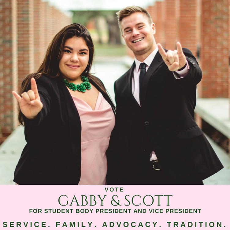 Gabby Cruz looks to become first female student body president in 20 years