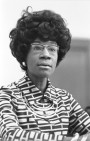 Hillary Clinton stands on the shoulders of Shirley Chisolm