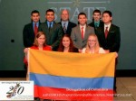 Students represent countries in ESMOAS