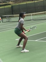 FAMU tennis match halted due to rain