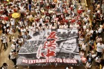 Hong Kong's government polices protestors
