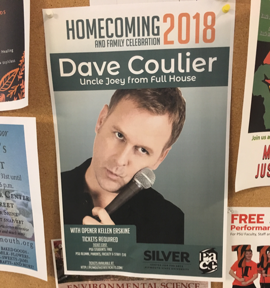 Dave Coulier Brings Nostalgia and Laughs to Homecoming