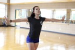 Miss Southeastern practices daily in preparation for Miss Louisiana