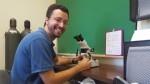 Dr. Greg Engel gets flies drunk for science