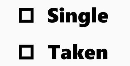 Single Vs. Taken on Valentine's Day