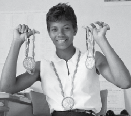 Olympian was product of an HBCU