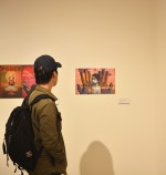 Students compete for cash prizes at  E. James Holland  Symposium Student Contest Exhibit