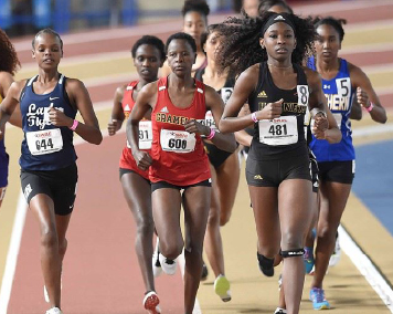 Lady Tigers sweep top four spots in 5,000 meter run at Texas Southern Relays