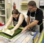 A niche for printmaking, a passion for education