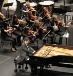 Symphony orchestra performs classics