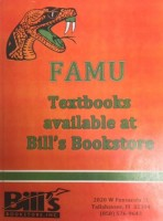 FAMU Textbooks Available at Bill's Bookstore