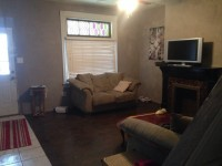 5 bed, 2 bath. Renovated with AC and W&D. Hardwood floors.