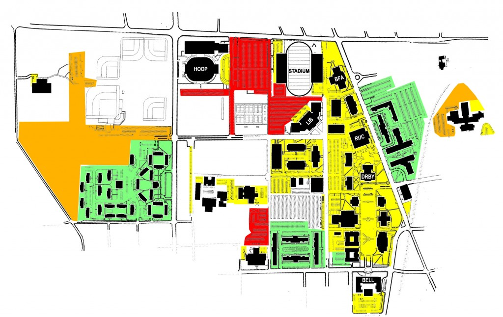 Tech To Change Parking System Beginning In Fall Of 2016 Tntechoracle