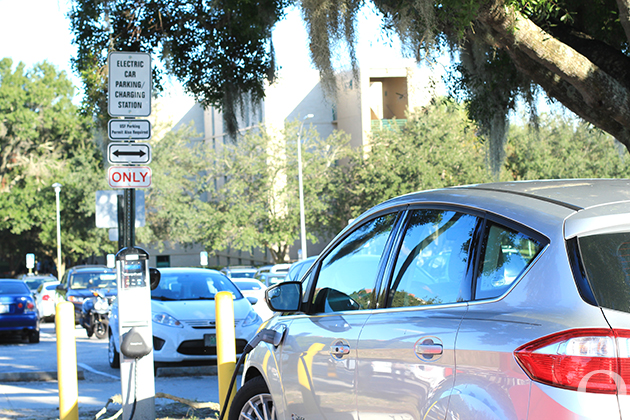 New electric car charging station at Patel center   The Oracle
