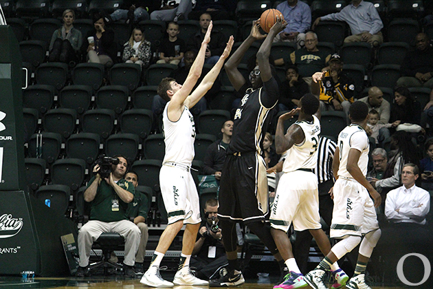 At 7 6 Tacko Fall Provides A Tall Order For Usf The Oracle