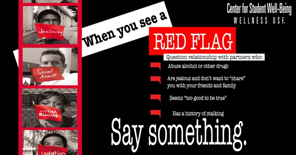 Red flag dating violence