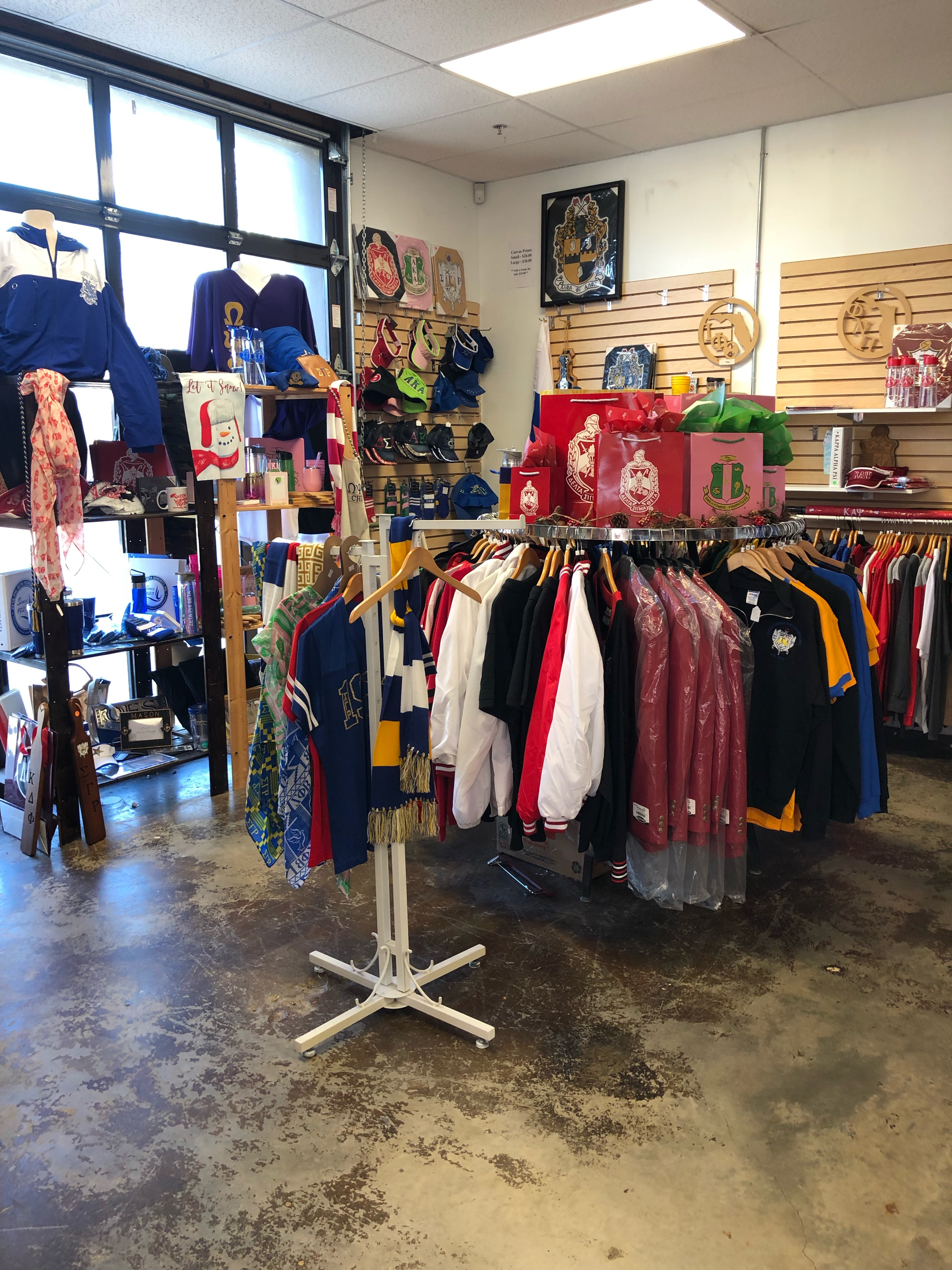 Campus Greek & Embroidery Shop caters to both sides of the